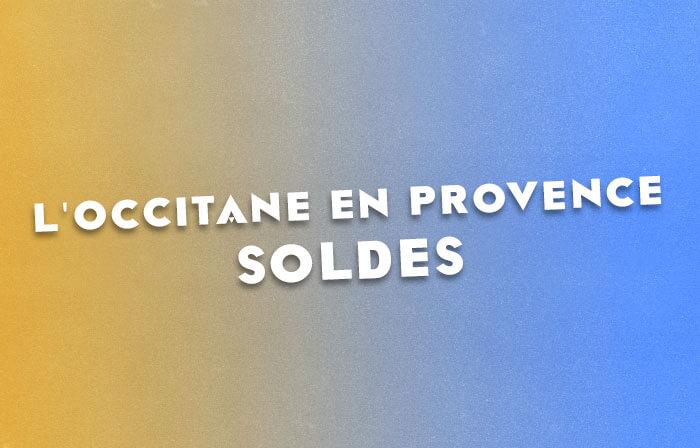 L'Occitane en Provence propose des soldes à -20%
