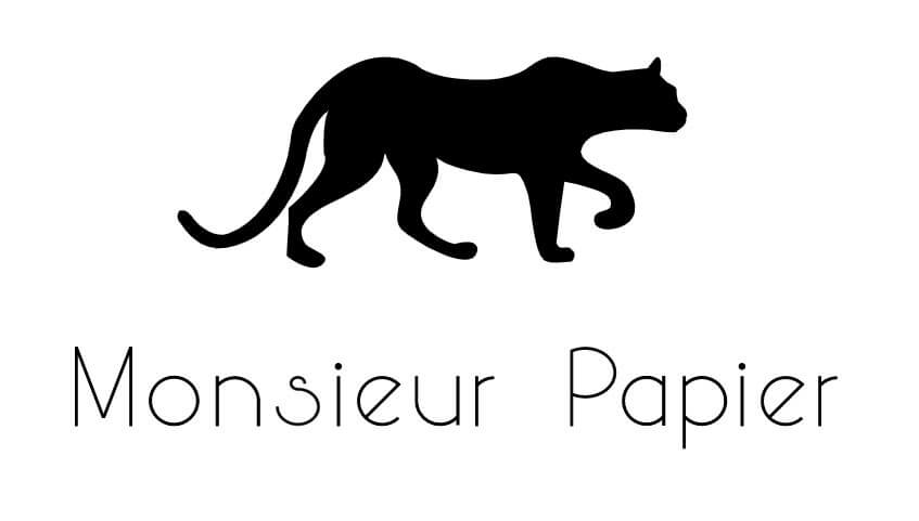 Monsieur papier logo
