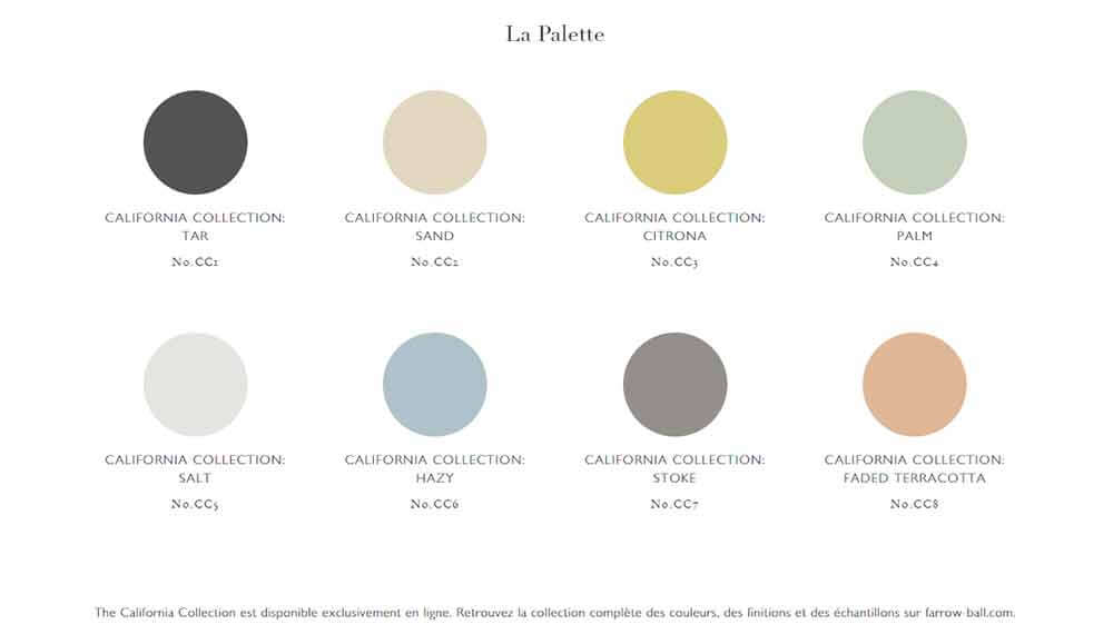 Palette Farrow and Ball