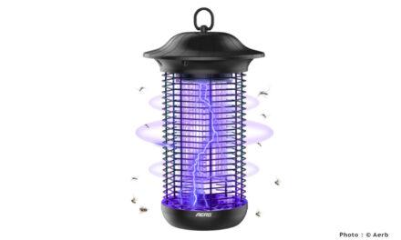 Test de la lampe anti moustique Aerb : la plus esthétique