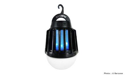 Test de la lampe anti-moustiques UV Barzone Lampe Nomade LED Anti-Moustiques 2 en 1