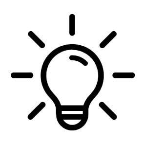 Lampes extérieures icone