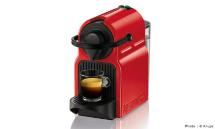 Test Machine à café Nespresso Krups Inissia Rouge