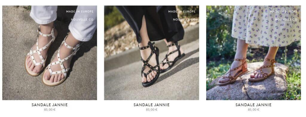 sandales et chaussures Bocage
