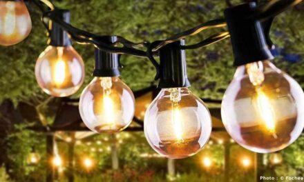 Guirlande lumineuse Fochea : Les lampions à accrocher