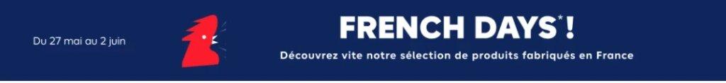 french days 1 Déstockage Castorama et French Days