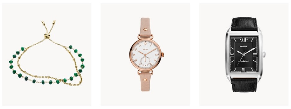 fossil Soldes Fossil jusqu'a -50%