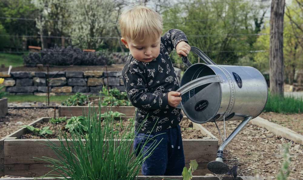 jardinage pour les enfants